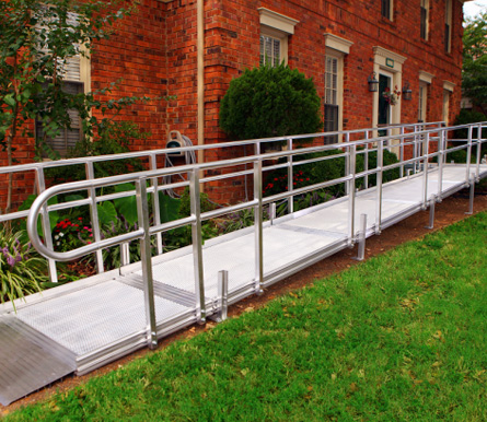 Installed Wheelchair Ramp in Fairfield, CT